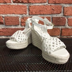 NEW Ralph Lauren Hailey Wedge Sandals